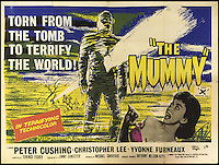 BNPS.co.uk (01202 558833)<br /> Pic: Cottees/BNPS<br /> <br /> The Mummy 1959 Hammer Film poster (1960 2nd release), starring Christopher Lee.<br /> <br /> A horror fan has sold his chilling collection of cult movie posters - for a shocking &pound;25,000.<br /> <br /> The unnamed film buff collected over 100 posters that advertised scary movies like Dracula, Frankenstein, The Wicker Man and the Hammer Horror franchise.<br /> <br /> He has now sold them at Cottees Auctions of Wareham, Dorset, with one rare Dracula poster fetching over &pound;5,000 alone.
