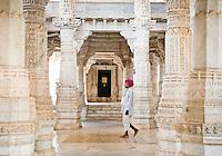 Ranakpur on the way to Jodhpur, Northern India, India