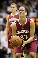 BERKELEY, CA - JANUARY 18:  Jillian Harmon of the Stanford Cardinal during Stanford's 57-54 loss to the California Golden Bears on January 18, 2009 at Haas Pavilion in Berkeley, California.