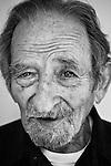 Spanish Civil War and Abraham Lincoln Brigade veteran David Smith, 92, at his home in Oakland, CA.