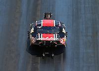 Jun 18, 2016; Bristol, TN, USA; NHRA pro mod driver Mike Janis during qualifying for the Thunder Valley Nationals at Bristol Dragway. Mandatory Credit: Mark J. Rebilas-USA TODAY Sports
