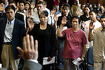 A U.S. Citizenship Ceremony at the Gus Soloman Federal Courthouse  in Portland continues  as new citizens are sworn to an oath, 17 countries of origin were represented....