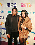 Hassan Pierre and Guest attend attend BET'S RIP THE RUNWAY 2011 Hosted by MEHCAD BROOKS AND SELITA EBANKS AT THE HAMMERSTEIN BALLROOM, New York 2/26/11