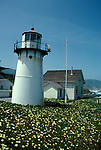 CA: Montara, California, lighthouse 2005 .Image: camontara101..Photo Copyright: Lee Foster, lee@fostertravel.com, www.fostertravel.com, (510) 549-2202.
