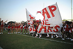 Lafayette High's cheerleaders vs. Memphis Trezvant in Oxford, Miss. on Friday, August 27, 2010.  Lafayette won 35-16 to improve to 2-0.