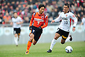 Lee Chun-Soo (Ardija), Marcio Richardes (Reds),<br /> FEBRUARY 20, 2011 - Football :<br /> Saitama City Cup match between Omiya Ardija 3-0 Urawa Red Diamonds at NACK5 Stadium Omiya in Saitama, Japan. (Photo by AFLO)