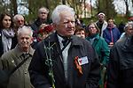 19.4.2015, Oranienburg Sachsenhausen. 70. Jahrestag zur Befreiung des KZ Sachsenhausen
