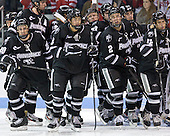 - The Boston University Terriers defeated the visiting Providence College Friars 4-2 (EN) on Saturday, December 13, 2012, at Agganis Arena in Boston, Massachusetts.