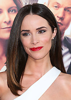 HOLLYWOOD, LOS ANGELES, CA, USA - SEPTEMBER 15: Actress Abigail Spencer arrives at the Los Angeles Premiere Of Warner Bros. Pictures' 'This Is Where I Leave You' held at the TCL Chinese Theatre on September 15, 2014 in Hollywood, Los Angeles, California, United States. (Photo by Xavier Collin/Celebrity Monitor)