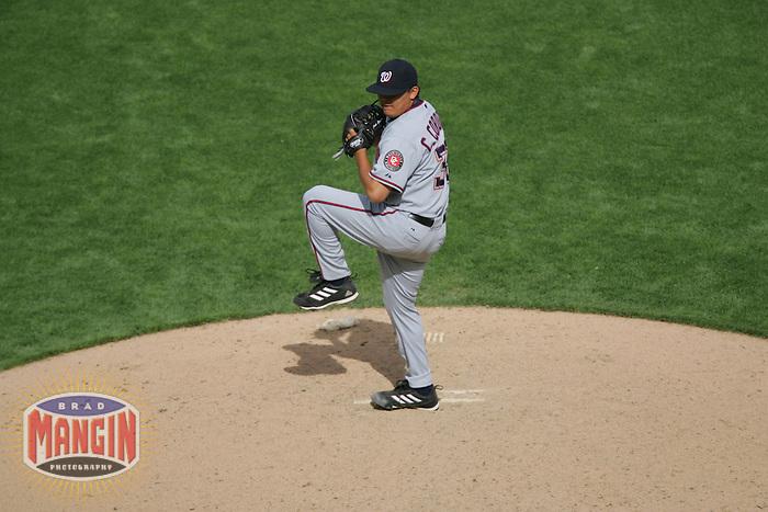 Chad Cordero. Baseball: Washington nationals vs San Francisco Giants at AT&T Park in San Francisco on May 7, 2005.