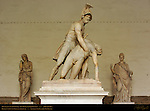Menelaus Supporting the Body of Patroclus Loggia dei Lanzi Florence