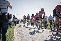 Jurgen Roelandts (BEL/Lotto-Soudal)<br /> <br /> 115th Paris-Roubaix 2017 (1.UWT)<br /> One Day Race: Compi&egrave;gne &rsaquo; Roubaix (257km)
