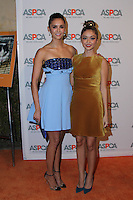 BEL AIR, CA - OCTOBER 20: Sarah Hyland, Nina Dobrev attends ASPCA's Los Angeles Benefit on October 20, 2016 in Bel Air, California.  (Credit: Parisa Afsahi/MediaPunch).