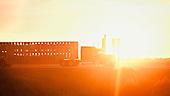 Garden City, USA, August 2011:.Cattle truck transporting cattle from feedyard for slaughter at the meatpacking plant. In this region there are four huge meatpacking plants of National Beef, Cargill and Tyson, that slaughter and process about 20 thousand cattle a day. Kansas dominates American beef industry, by producing one quarter of all beef in the USA..(Photo by Piotr Malecki / Napo Images)..Garden City, Kansas, Stany Zjednoczone, Sierpien 2011:.Ciezarowka wiezie bydlo na rzez w zakladzie miesnym. W tym rejonie sa cztery wielkie zaklady miesne nalezace do firm National Beef, Cargill i Tyson. Zaklady te przerabiaja razem okolo 20 tysiace sztuk bydla dziennie.  Stan Kansas zdominowal rynek wolowiny w Stanach Zjednoczonych, produkujac jedna czwarta calej amerykanskiej wolowiny. Amerykanski przemysl miesny jest bardzo uzalezniony od taniej sily roboczej, ktora daja emigranci..Fot: Piotr Malecki / Napo Images.