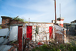 The remains of Scarborough FC's Athletic Ground. Photo by Simon Gill.