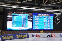 SCHAATSEN: BERLIJN: Sportforum, 08-12-2013, Essent ISU World Cup, Team Pursuit Ladies,  result, ©foto Martin de Jong