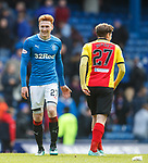 David Bates and Kevin Nisbet at full time