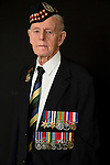 Mcc0061160 . Daily Telegraph<br /> <br /> Telegraph Magazine<br /> <br /> D Day Veterans<br /> <br /> Jim Glennie who served as a private in the 5th/7th Gordon Highlanders on D Day and was later taken prisoner during the battle for Caen.<br /> <br /> 26 March 2015