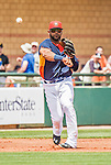 22 March 2015: Houston Astros infielder Jonathan Villar in Spring Training action against the Pittsburgh Pirates at Osceola County Stadium in Kissimmee, Florida. The Astros defeated the Pirates 14-2 in Grapefruit League play. Mandatory Credit: Ed Wolfstein Photo *** RAW (NEF) Image File Available ***