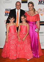 CENTURY CITY, CA, USA - MAY 02: Isabella Rickel, Ken Rickel, Ariana Rickel, Nancy Davis at the 21st Annual Race To Erase MS Gala held at the Hyatt Regency Century Plaza on May 2, 2014 in Century City, California, United States. (Photo by Celebrity Monitor)