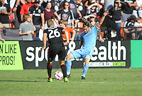 Washington, D.C. - October 16, 2016: D.C. United defeated New York City FC 3-1 during their Major League Soccer (MLS) match at RFK Stadium.