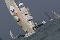 AUSTRALIA, Sydney Harbour, 15th February, JJ Giltinan Championship, Race 2, Southern Cross.