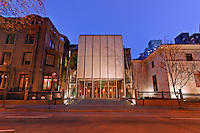 The Morgan Library & Museum, designed by architect Renzo Piano, Manhattan, New York City, New York, USA