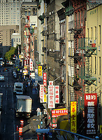 Chinatown, street, Manhattan, New York City, New York, USA