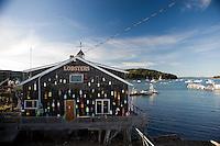 Street Scenes in Bar Harbor, Maine