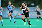 18 September 2015: Louisville's Elisa Garcia (CHI). The University of North Carolina Tar Heels hosted the University of Louisville Cardinals at Francis E. Henry Stadium in Chapel Hill, North Carolina in a 2015 NCAA Division I Field Hockey match. UNC won the game 5-0.