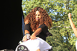 Salt-n-Pepa Peforms at the 4th Annual R&B Fest 2012 Eric Benet, Salt-n-Pepa, Christopher Williams, Kenny Lattimore, Q Parker, DJ DWIZ Presented in Association with: Globe Star Media and WBLS held at SummerStage Central Park, NY  8/12/12