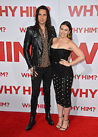 Nick Simmons &amp; Sophie Simmons - children of KISS star Gene Simmons - at the world premiere of &quot;Why Him?&quot; at the Regency Bruin Theatre, Westwood. December 17, 2016<br /> Picture: Paul Smith/Featureflash/SilverHub 0208 004 5359/ 07711 972644 Editors@silverhubmedia.com