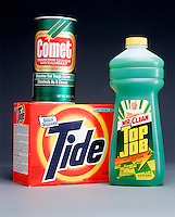 TIDE, COMET &amp; TOP JOB CLEANERS<br />