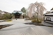 Kodaiji Temple, in Kyoto, Japan on Sunday 16th April 2012.
