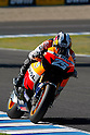 May 1, 2010 - Jerez, Spain -Spanish Dani Pedrosa powers his bike during a free Moto GP practice session at Jerez de la Frontera's circuit on May 1, 2010. (Photo Andrew Northcott/Nippon News).