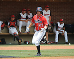 Mississippi's Taylor Hashman (27) scores vs. St. John's during an NCAA Regional game at Davenport Field in Charlottesville, Va. on Sunday, June 6, 2010.