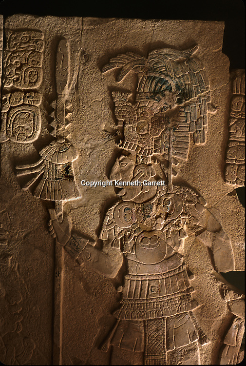 Maya; Palenque; Ancient Cultures; The Americas; Archaeology; Mexico; Meso America, K'inich Kan Bahlam, ruler, warrior king, Temple 17