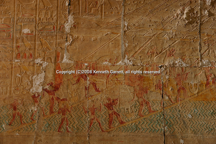 Hatshepsut; Egypt; Deir el Bahri; Mortuaty temple; Expedition to Punt; sail boat; Red Sea; New Kingdom; 18th dynasty