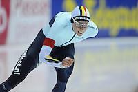 SCHAATSEN: HEERENVEEN: 13-12-2014, IJsstadion Thialf, ISU World Cup Speedskating, Bart Swings (BEL), ©foto Martin de Jong