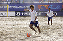 Masahito Toma (JPN),SEPTEMBER 2, 2011 - Beach Soccer :FIFA Beach Soccer World Cup Ravenna/Italy 2011, Group D match between Japan 2-3 Mexico at Stadio del Mare in Marina di Ravenna, Ravenna, Italy. (Photo by Wataru Kobayakawa/AFLO)