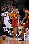 MILWAUKEE, WI - MARCH 18: Iowa State Cyclones guard Donovan Jackson (4) reacts to a call on the floor during the first half of the 2017 NCAA Men's Basketball Tournament held at BMO Harris Bradley Center on March 18, 2017 in Milwaukee, Wisconsin. (Photo by Jamie Schwaberow/NCAA Photos via Getty Images)