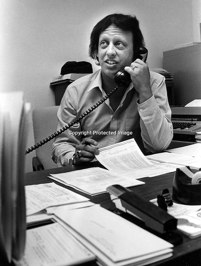 Oakland Athletics travel director Mickey Morabito.<br />