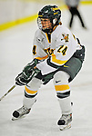 8 November 2008: University of Vermont Catamount forward Jul Sifers, a Sophomore from New London, CT, in action against the Wayne State Warriors at Gutterson Fieldhouse, in Burlington, Vermont. The Catamounts were shut out by the Warriors 7-0...Mandatory Photo Credit: Ed Wolfstein Photo