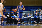 26 October 2014: Rebecca Greenwell. The Duke University Blue Devils held their annual Blue-White Game at Cameron Indoor Stadium in Durham, North Carolina in preparation of the upcoming 2014-15 NCAA Division I Women's Basketball season.
