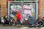 Amsterdam is graffiti.