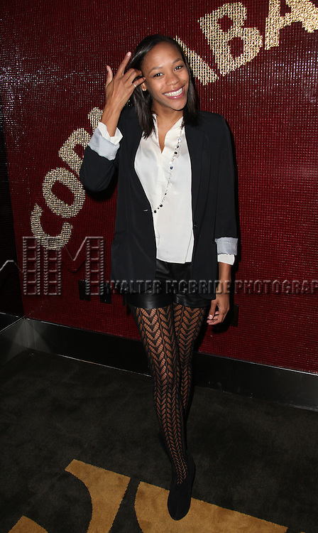 """Nikki M. James.attending the Michael Musto - 'Fork On The Left, Knife in the Back""""  Book Release Party at the Copacabana in New York City."""