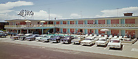 La Vita Motel Wildwood New Jersey. 1960's retro photograph.