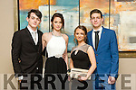 Sean Casey  Julia Swigon, Eve Walsh  Gitas Marcisauskas at the CBS The Green Students' Debs Ball at Ballyroe Heights Hotel on Thursday night