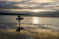 Winter Surfers, Lahinch beach, County Clare, Ireland