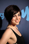 Krista Rodriguez attending the 24th Annual GLAAD Media Awards at the Marriott Marquis Hotel in New York City on 3/16/2013.